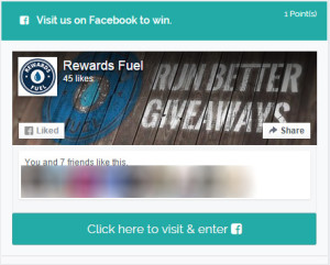 Facebook Contest Entry