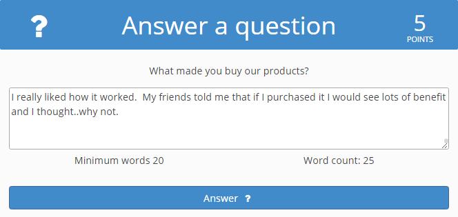 answering