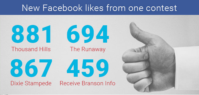 Facebook Likes with One Contest