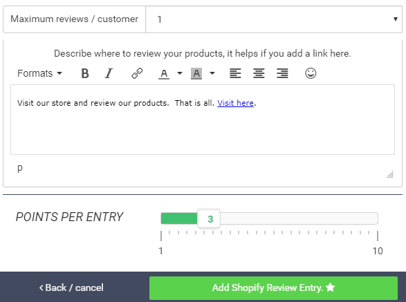 Viral Giveaway Shopify