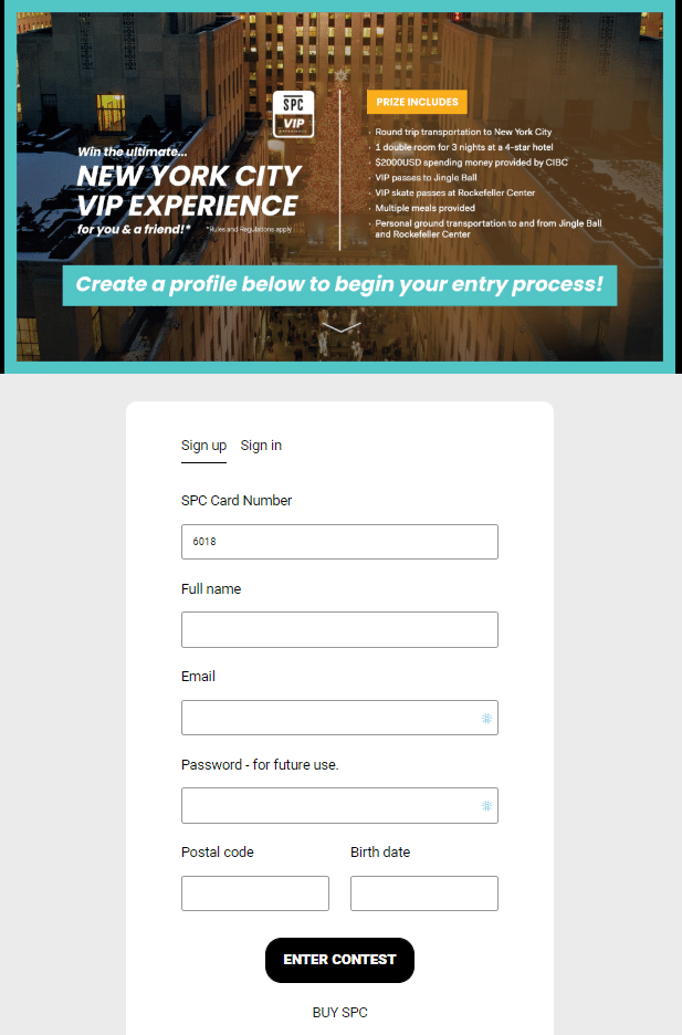 Student Price Card Form First Contest